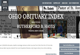 r.b. hayes obituary index screenshot