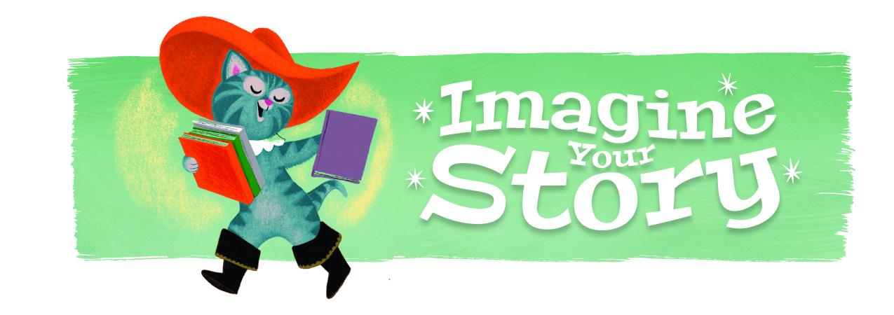Imagine Your Story - Summer Reading 2020 Logo